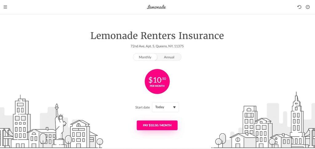 lemonade insurance business model