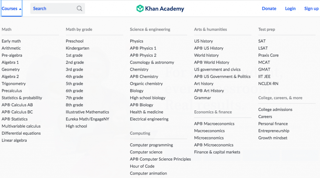 what is khan academy