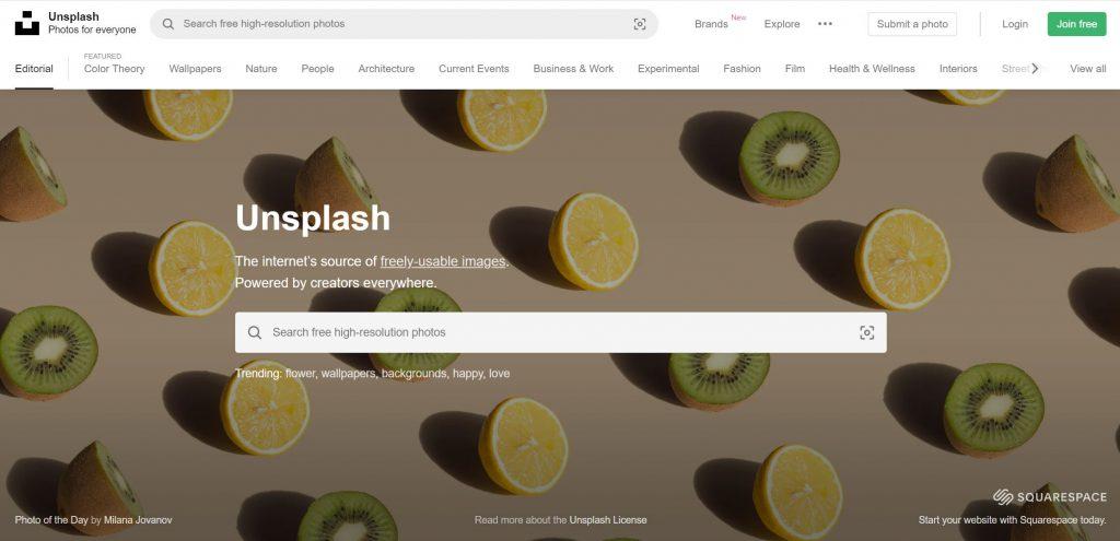 what is unsplash