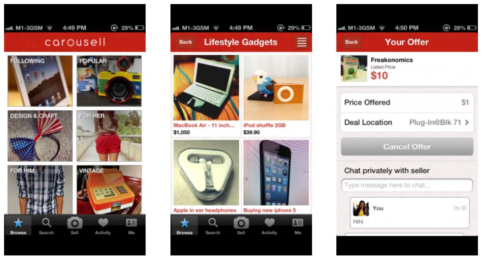 carousell how it started