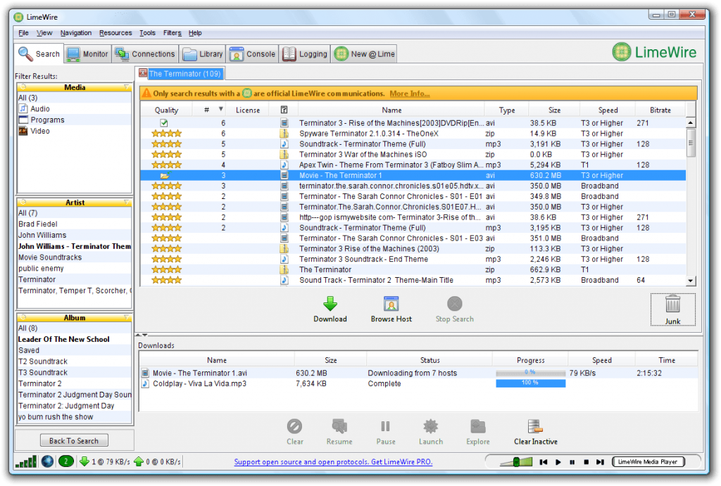 what was limewire